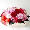 プリザーブドフラワー(陶器) 【桃花(ももか)】 プリザーブドフラワー お祝い 結婚記念日 退職祝い 還暦祝い 開業祝い 法人 ピンク 誕生日祝い ギフト 送料無料 プレゼント 花 贈り物 ブリザードフラワ− お花 プリザ