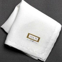 スワトウ スワトウ 手刺繍 ハンカチ 2201 ホワイト 白 レディース
