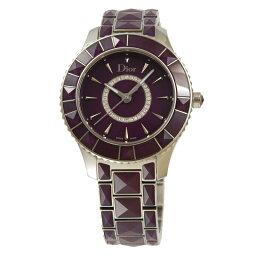 ディオール 腕時計(レディース) ディオール Dior 腕時計レディース クリスタル 143112M001 PU/ダイヤ