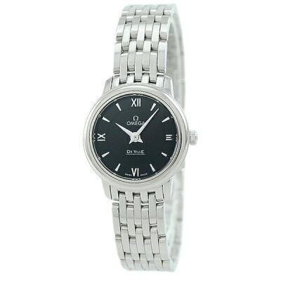 オメガ OMEGA レディース 腕時計 デ・ビル ブラック 424.10.24.60.01.001