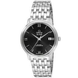 オメガ デ・ビル 腕時計(メンズ) オメガ omega/ 腕時計 デ・ビル ブラック 424.10.37.20.01.001