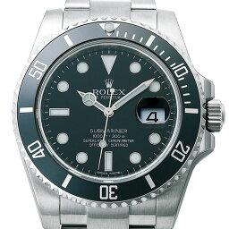 サブマリーナ 腕時計 ロレックス(メンズ) ロレックス ROLEX サブマリーナ デイト メンズ 腕時計 ブラック 116610LN