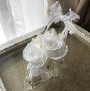 シンデレラの靴 シンデレラの靴☆☆まさにお姫様☆まるでガラスの靴!プリザーブドフラワー