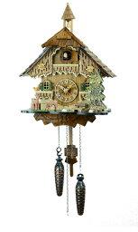 鳩時計 鳩時計 壁掛け時計 ハト時計 はと時計 ポッポ時計 バンビの山小屋 431QM 10P09Jul16