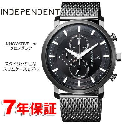 ポイントUPキャンペーン中 インディペンデント シチズン クロノグラフ INDEPENDENT CITIZEN インデペンデント メンズ 腕時計 BA5-848-51