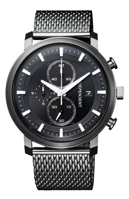 クーポン利用で2000円off インディペンデント シチズン クロノグラフ INDEPENDENT CITIZEN インデペンデント メンズ 腕時計 BA5-848-51