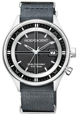 クーポン利用で2000円off ソーラー電波時計 インディペンデント シチズン ミリタリー NATOバンド INDEPENDENT CITIZEN インデペンデント メンズ 腕時計 KL8-643-50