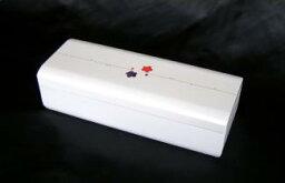 会津塗りオルゴール宝石箱 オルゴール パールホワイト(白)S700W
