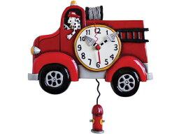 振り子時計 Allen Designs アレン・デザイン 消防車の振り子時計 Big Red Firetruck ClockMichelle Allenデザイン おすすめです♪