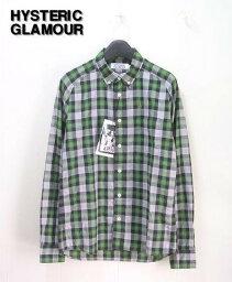 ヒステリックグラマー S 【HYSTERIC GLAMOUR ヒステリックグラマー チェックシャツ】0213AH01264【新品】