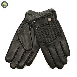ラルフローレン 手袋(メンズ) POLO RALPH LAUREN ポロ ラルフ・ローレン PG0017 QUILTED RACING GLOVE メンズ キルテッド レーシング グローブ ベルト付き レザー 手袋