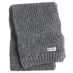 ホリスター カンパニー 【並行輸入品】ホリスター メンズ マフラー Hollister Knit Scarf (ダークグレー) 【 スカーフ 】