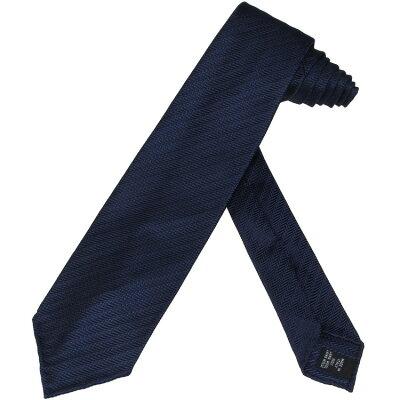 タイ・ユア・タイ Tie Your Tie ネクタイ セッテピエゲ 織柄 ストライプ ネイビー