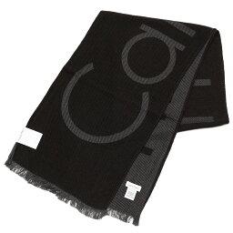 カルバンクライン Calvin Klein カルバンクライン メンズ ブランドロゴマフラー サイズ/F/ eck17w105 HKC73621:001 ブラック
