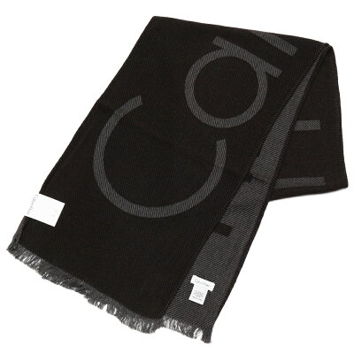 Calvin Klein カルバンクライン メンズ ブランドロゴマフラー サイズ/F/ eck17w105 HKC73621:001 ブラック