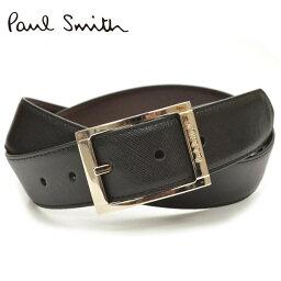 ポールスミス ベルト(メンズ) Paul Smith ポール スミス メンズ リバーシブルレザーベルト サイズ調整可能 eps18s020 M1A-4437-ACUT:ブラック×ブラウン