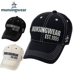 マンシングウェア マンシングウェア MunsingwearツイルキャップAM3228ゴルフ 帽子 メンズ防寒