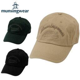 マンシングウェア マンシングウェア MunsingwearウォッシュキャップAM3230ゴルフ 帽子 メンズ防寒
