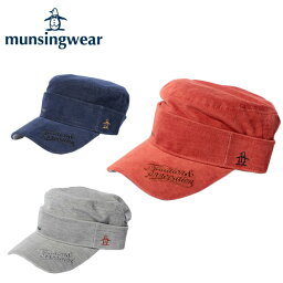マンシングウェア マンシングウェア MunsingwearキャップAM3234ゴルフ 帽子 サンバイザー メンズ防寒