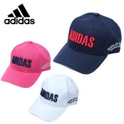 アディダス アディダス ゴルフ キャップ レディース ロゴコットンツイル CCS27 adidas