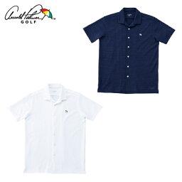 アーノルドパーマー アーノルドパーマー arnold palmer ゴルフウェア 半袖シャツ メンズ オープンカラー半袖シャツ AP220101I03