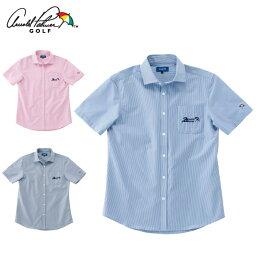 アーノルドパーマー アーノルドパーマー arnold palmer ゴルフウェア 半袖シャツ メンズ ストライプサッカー半袖シャツ AP220101I06