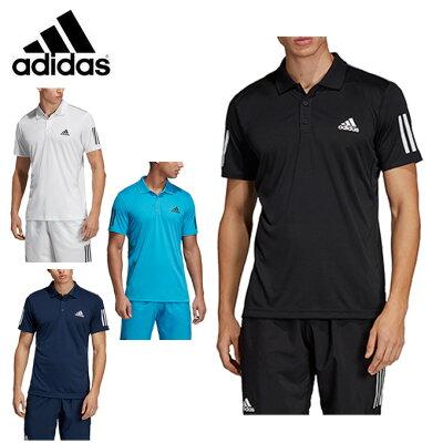アディダス ポロシャツ 半袖 メンズ TENNIS CLUB 3STR POLO テニス クラブ ポロ FRW69 adidas
