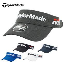 テーラーメイド テーラーメイド TaylorMade ゴルフ サンバイザー メンズ ツアーレイダーバイザー ANW71