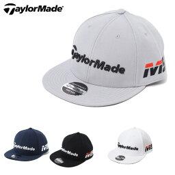 テーラーメイド テーラーメイド TaylorMade ゴルフ キャップ メンズ ツアーフラットビル JJJ97