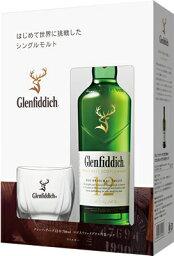 サントリー シングルモルト ウイスキー 【サントリー】グレンフィディック12年 700ml グラス付