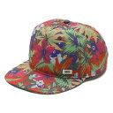 バンズ 【バンズ キャップ】VANS OVERALL SNAPBACK Hampton Floral●帽子