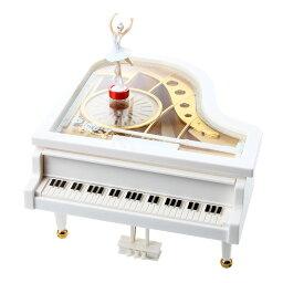 バレリーナ回転オルゴール バレリーナが踊る 回転 オルゴールピアノ おしゃれ インテリア ゼンマイ式 楽曲選択不可[その他HK][送料無料(一部地域を除く)]