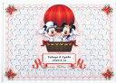 ミッキー&ミニー ミッキー&ミニーのメッセージパズルのウェルカムボード「気球」80ピース ディズニー 結婚式 寄せ書き バルーン