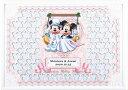 ミッキー&ミニー ミッキー&ミニーのメッセージパズルのウェルカムボード「ブランコ」80ピース ディズニー 結婚式 寄せ書き