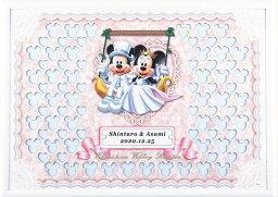 ミッキー&ミニー ディズニー メッセージパズルのウェルカムボード 『ブランコタイプ』(ミッキーマウス&ミニーマウス)80ピース 【結婚式 寄せ書き】