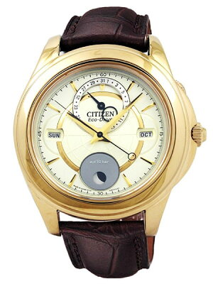 シチズン CITIZEN エコドライブ メンズ ムーンフェイズ 月齢 日本製 腕時計 BU0003-02P