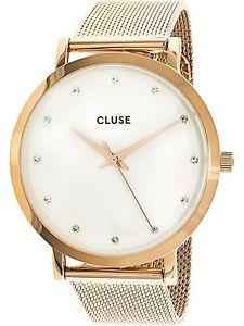 【送料無料】腕時計 ウォッチゴールドケースファッションウォッチローズcluse womens rose gold case fashion watch cl18303