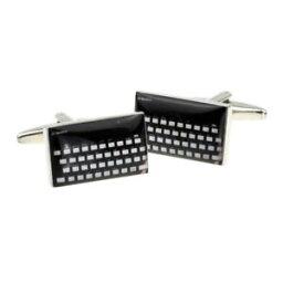 キーボード カフス 【送料無料】メンズアクセサリ— レトロボックス×コンピュータキーボードretro computer keyboard in a cufflink box x2bocr017