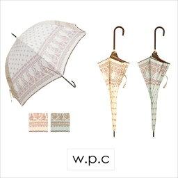 ワールドパーティー 雨の日も可愛い傘で気分UP♪ w.p.c umbrella LONG ETHNIC PAISLEY(エスニックペーズリー) 【傘】【ワールドパーティー】【w.p.c】【雨具】