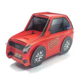 ミュージック  メッセージカード バースデーカード ライト付きメロディーカード P258 赤いスポーツカー サンリオ エンジン、クラクション音のミュージック お誕生日カード Birthday Card グリ