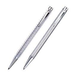 カランダッシュ ボールペン CARAN D'ACHE(カランダッシュ) エクリドール シルバープレート&パラジウムコート ボールペン
