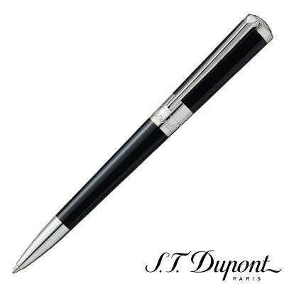 S.T. Dupont デュポン リベルテ ブラック ナチュナルラッカー ボールペン 465674