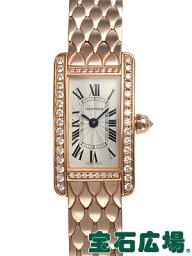 カルティエ タンクアメリカン 腕時計(レディース) カルティエ ミニタンクアメリカン WB710012【新品】【レディース】【腕時計】【送料・代引手数料無料】