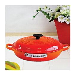 ビュッフェ・キャセロール ル・クルーゼ ビュッフェ・キャセロール 26cm オレンジ (日本正規販売品) ルクルーゼ(Le Creuset)