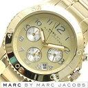 マークジェイコブス 腕時計(メンズ) マークバイマークジェイコブス 腕時計 [ Marc By Marc Jacobs 時計 ] マークジェイコブス ロック クロノ [ Rock ] メンズ レディース 男女兼用 ゴールド MBM3188 [ ビジネス ]