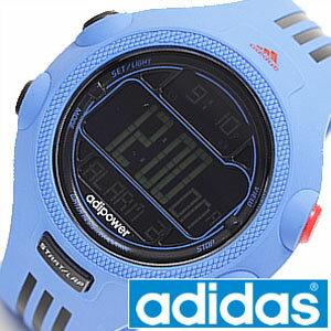 アディダス 腕時計 adidas 時計 アディパワー ADIPOWER メンズ レディース ADP3122 [ スポーツウォッチ スポーツ 水色 ブルー デジタル 3本線 レア 逆輸入 海外モデル 運動 ファッション ペールトーン アスレジャー ]