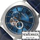 ニューヨーカー ニューヨーカー腕時計 NEWYORKER時計 自動巻き腕時計 自動巻き時計 自動巻き 腕時計 時計 機械式腕時計 機械式 NEW YORKER ニューヨーカー タイムパーソン Timeperson メンズ NY003-05 オープンハート トラッド ルイ15世リューズ 送料無料 mdw