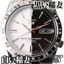 セイコーファイブ 腕時計(メンズ) セイコー セイコー5 腕時計 SEIKO 時計 セイコーファイブ 黒い稲妻 白い稲妻 メンズ ブラック ホワイト SNKE03K SNKD97J [ メンズ腕時計 ガンメタ 海外 海外モデル 海外セイコー 逆輸入 機械式 自動巻き オートマ ブラックサンダー ホワイトサンダー FAVSEIKO]