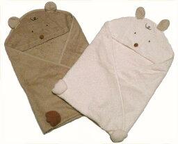 ラップタオル アフガン おくるみ タオル製 ベビー フード付き バスタオル 出産祝い 日本製 新生児 ギフト
