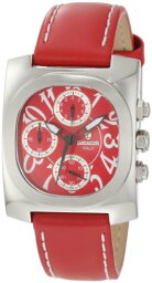 ランカスター Lancaster ランカスター レディース腕時計 Women's OLA0288RSBN-RSBN Chronograph Red Dial Red Leather Watch
